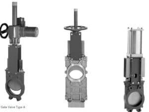 AKO knife gate valves
