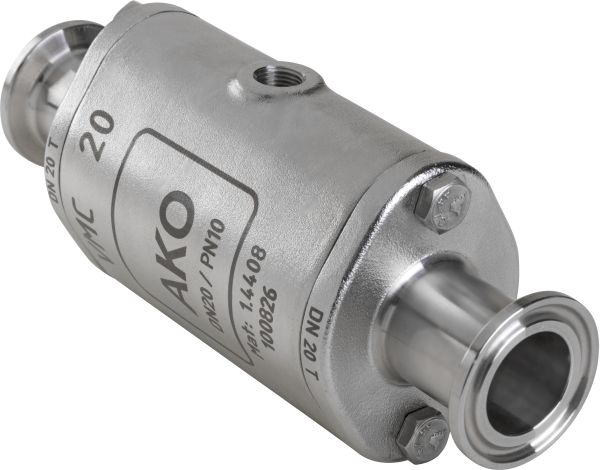 VMC hose Valve with Tri-Clamp Ends