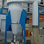 VMP Pinch Valves used for powder coating