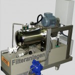 Filter systems with Pinch Valves