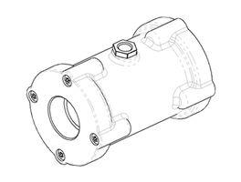 VMP pinch valves CAD