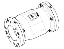 VT tanker pinch valve CAD drawings
