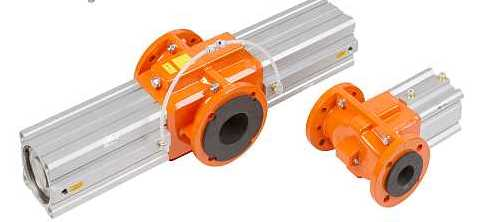 air operated pinch valves type OV