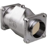 DN100-Pinch Valve with Weld-on end acc. to DIN 11850 row 2