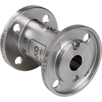 DN25-Pinch Valve with flange connection acc. to DIN EN 1092-1