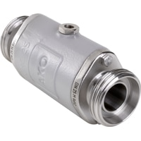 DN25-Pinch Valve with RJT Connection from AKO Armaturen