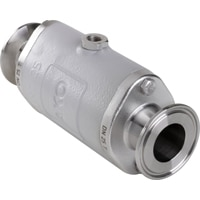 DN25-Pinch Valve with Tri-Clamp acc. to DIN 32676 row A
