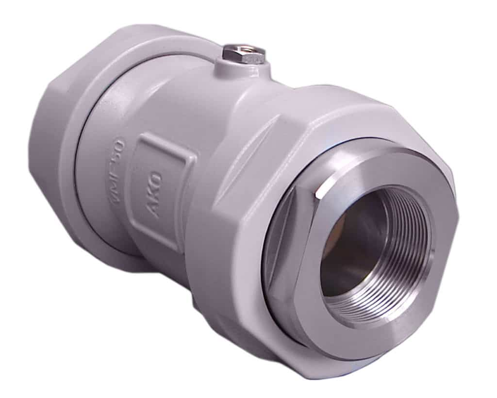 DN32 - Air Pinch Valve / Pneumatic pinch valve Type VMF of AKO