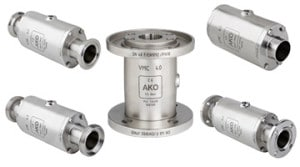stainless steel air flow valves
