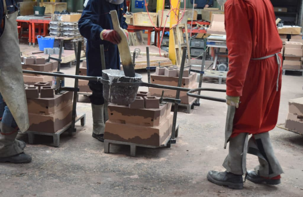 valves for sand foundry