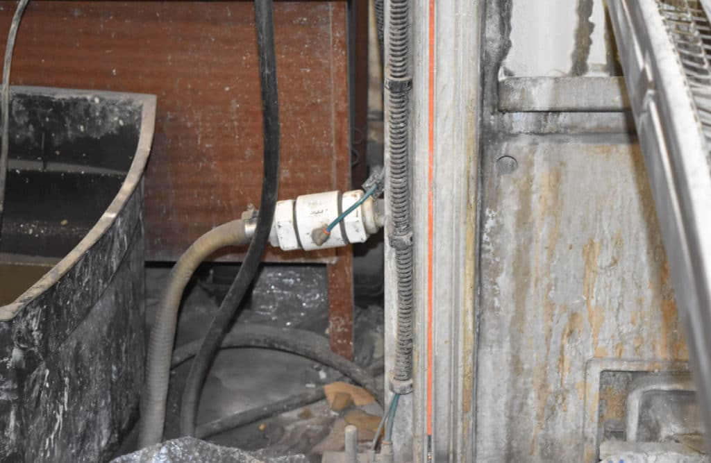 valve for powder coating