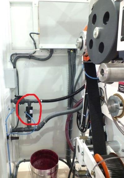 valves for water based ink