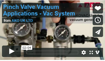 Pinch Valve Vacuum Applications
